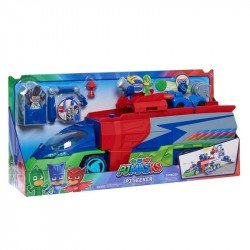 PJ Mask Playset Vehiculo Rastreador Deluxe Bandai