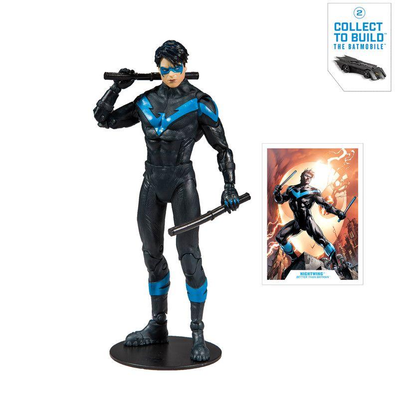 """Figura De Acción McFarlane DC Collector 7"""" Batman Who Laughs"""