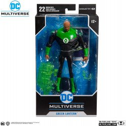 "Figura De Acción McFarlane DC Estilizada 7"" Green Lantern"