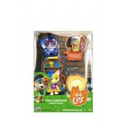 Playset con figura 44 Gatos Lampo