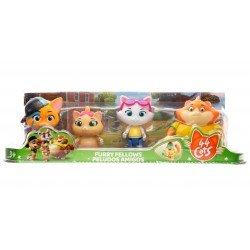 44 Gatos 4 Pack De Figuras Bandai