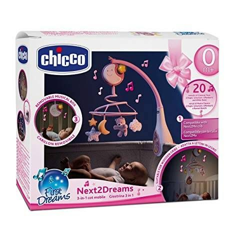 CHICCO NEXT TO DREAMS PINK