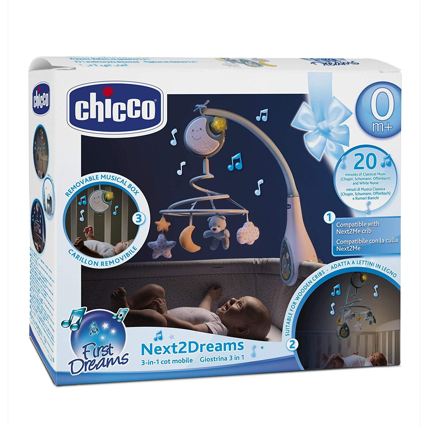CHICCO NEXT TO DREAMS BLUE