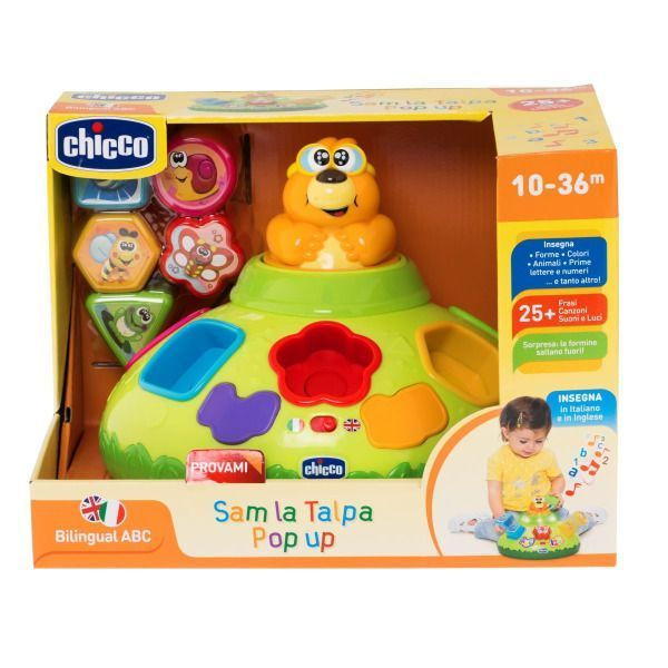 CHICCO SAM THE POP UP MOLE