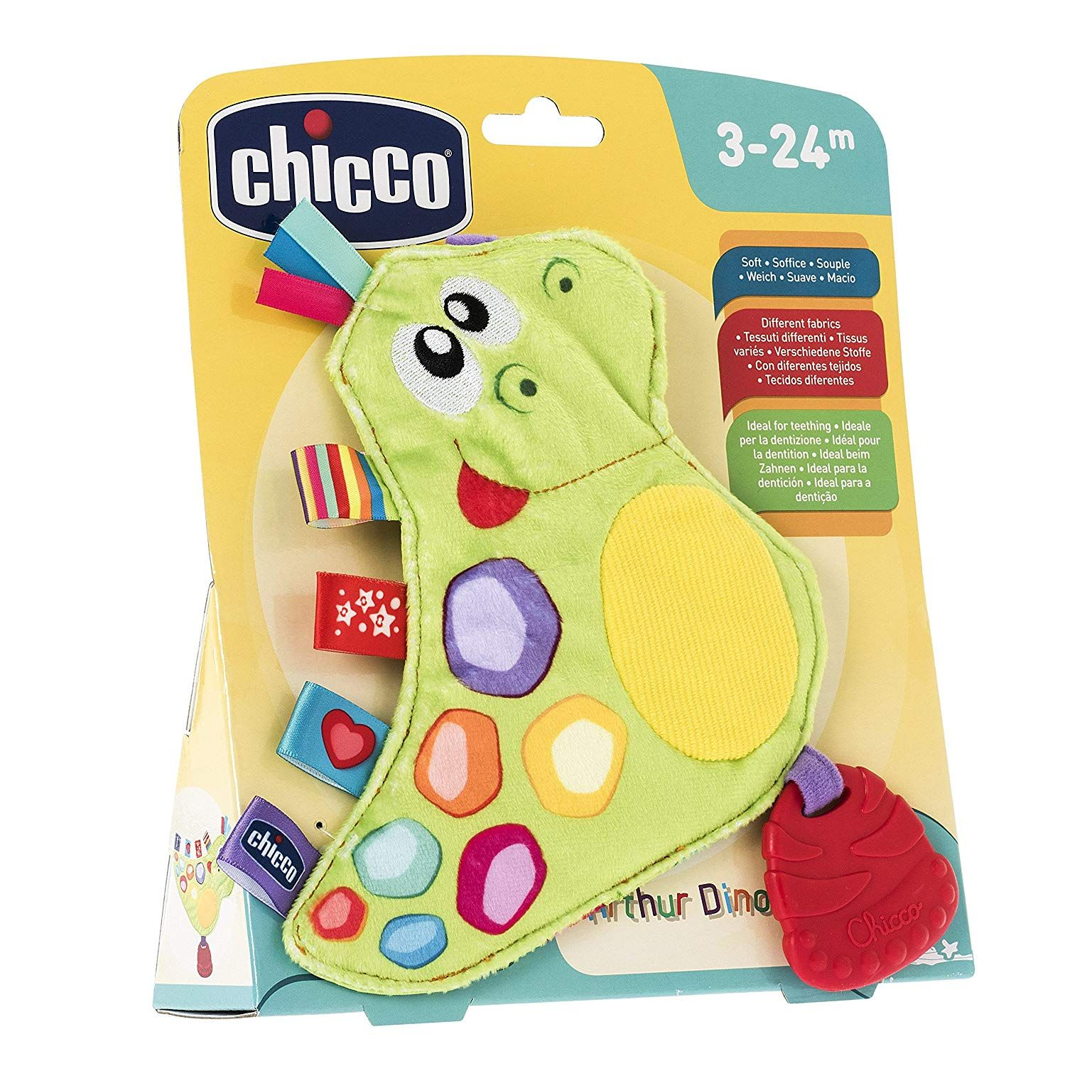 CHICCO TOY ARTHUR FUNNY DINO