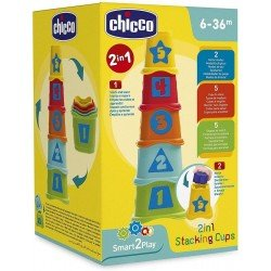 Torre De Cubos Apilables 2 En 1 Chicco