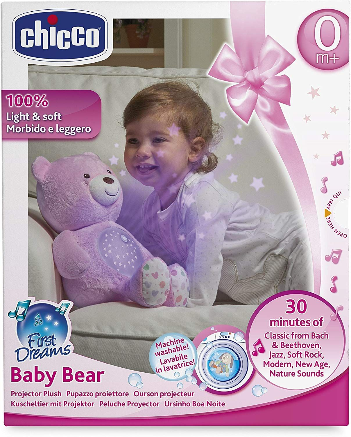 CHICCO TOY FD BABY BEAR PIN