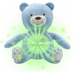 Peluche Proyector First Dreams: Baby Bear Azul Chicco