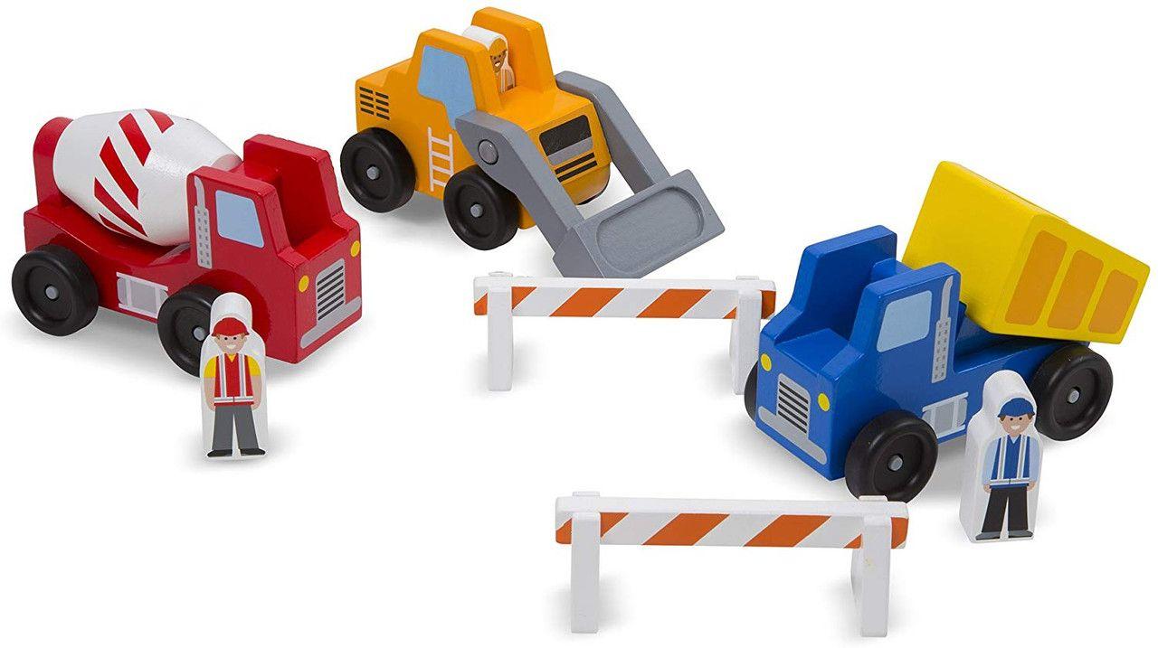 Set de Vehiculos de Construcción Melissa & Doug