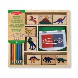DINOSAUR STAMP SET