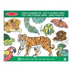 Bloc Gigante De Animales Para Colorear