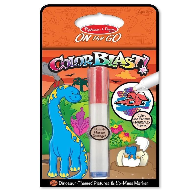Kit Para Colorear Color Blast Dinosaurio Melissa & Doug
