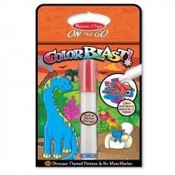 Kit Para Colorear Color Blast Dinosaurio Melissa & Doug