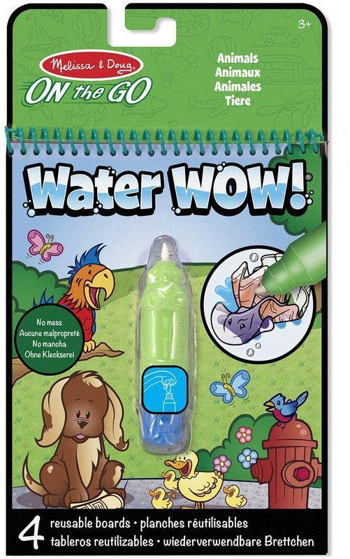 Kit Para Colorear Water WOW! Animales Melissa & Doug
