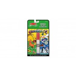Kit Para Colorear On The Go Color Blast! Animales Melissa & Doug