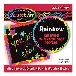 Mini Notas Arcoiris Scratch Art by Melissa & Doug