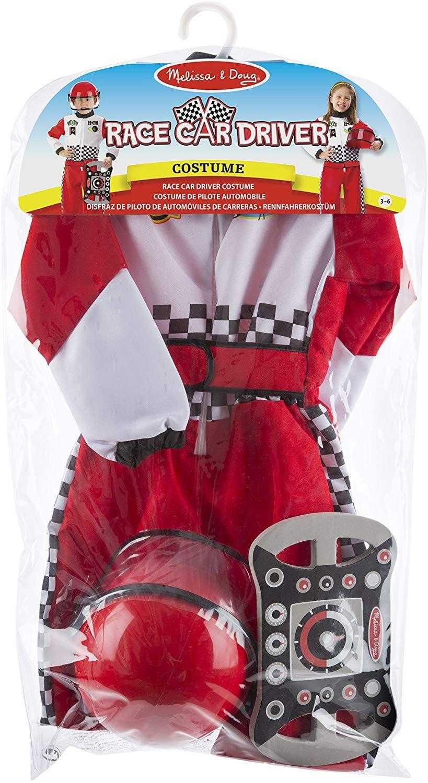 Disfraz De Piloto De Automóviles De Carreras