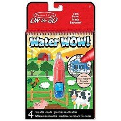 Kit Para Colorear On The Go Water WOW! Granja Melissa & Doug
