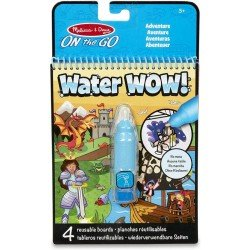 Kit Para Colorear On The Go Water WOW! Aventuras Melissa & Doug