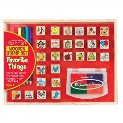 Favourite Things Stamp Set Melissa & Doug
