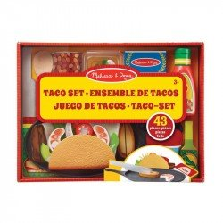 Melissa & Doug 19370 Juego De Tacos Y Tortillas Para Rellenar