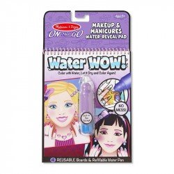 Kit Para Colorear On The Go Water WOW! Maquillaje y Manicuras Melissa & Doug