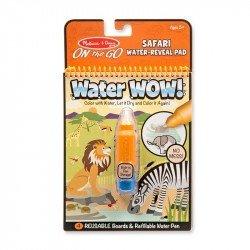 Jugar A Revelar Con Agua Safari Melissa & Doug