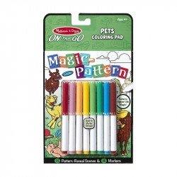 Kit Para Colorear ON The GO Mascotas Melissa & Doug
