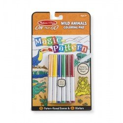 Kit Para Colorear ON The GO Animales Salvajes Melissa & Doug