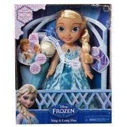 """Muñeca Canta Conmigo Elsa Frozen 16"""""""