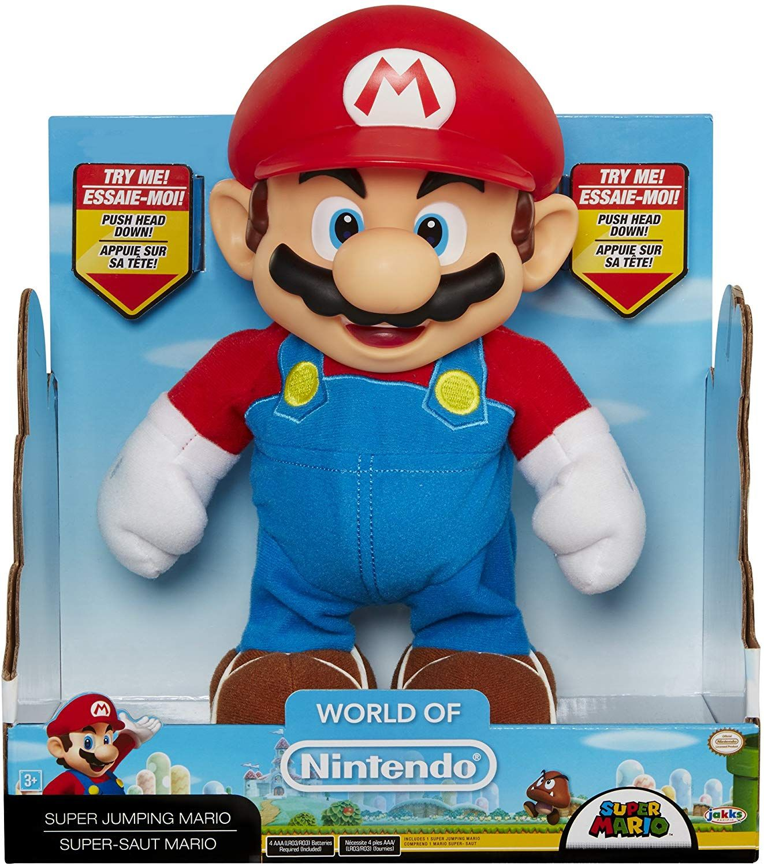 "Nintendo Figura de 12"" Mario Bros Electronica con sonido"