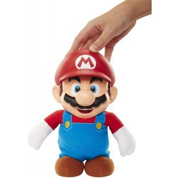 """Figura 12"""" Mario Bros Electrónica con sonido World Of Nintendo"""