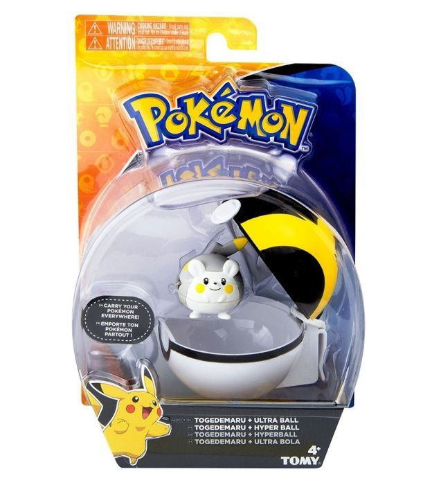 Set Figura y Pokeball Clip N' Carry Pokemon
