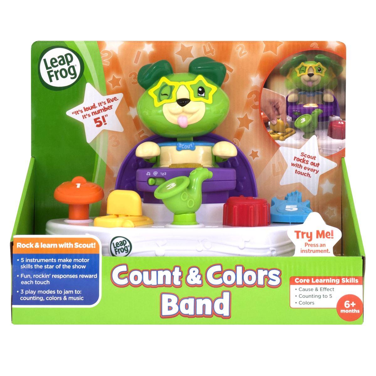 Aprende Colores y Números con Scout Leapfrog