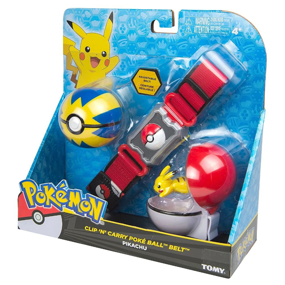 POKEMON CLIP N CARRY P BALL BELT V2