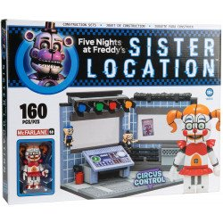 SET CONSTRUCCION INFANTIL NINO MCFARLANE FIVE NIGHT AT FREDD