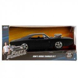 Vehículo Rápidos y Furiosos 8 Metals 1:32 Dom's Dodge Charger R/T