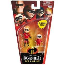 INCREIBLES 2 4 BASIC FIGURES WAVE 1