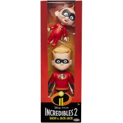 INCREIBLES 2 CHAMPION SERIES FIGURA DASH AND JACK JACK