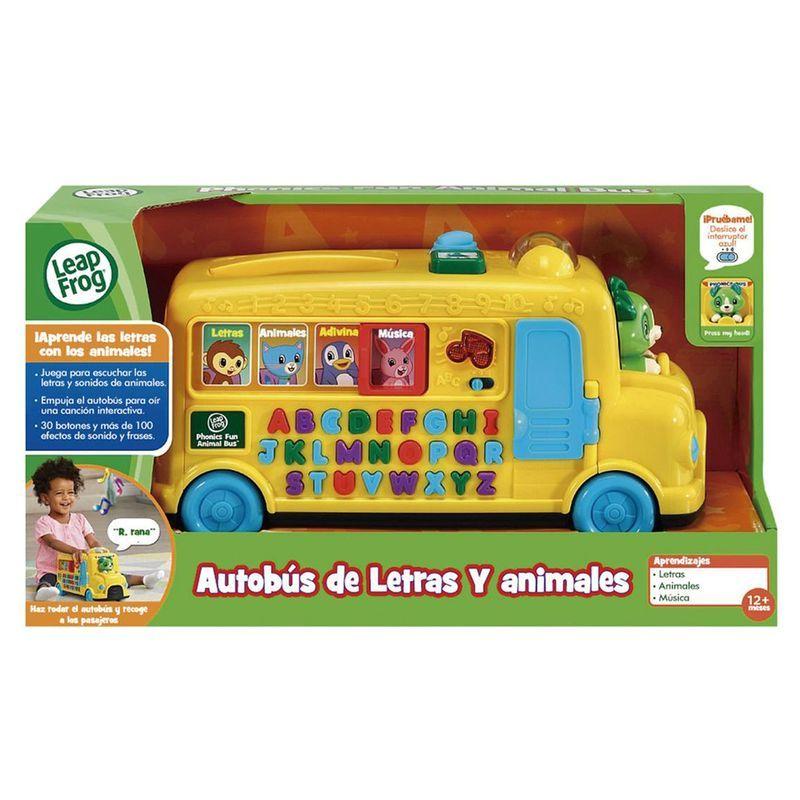 Leapfrog Alfabeto Autobus Escolar