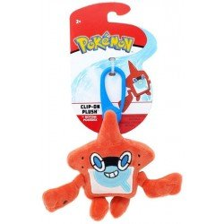 Figura Clip-On Plush Pokemon Pokedex Rotom