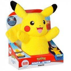 Peluche Pokemon Pikachu con Luz y Sonido