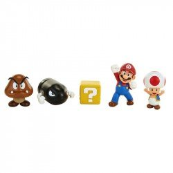 Set 5 Figuras De Acción Nintendo Mario Bross