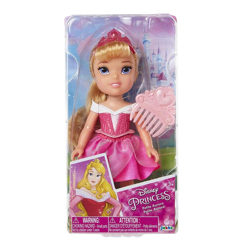 "Muñeca Mini Disney Princess 6"" Ariel"