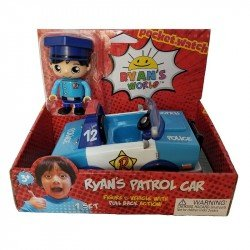 Vehiculo y Figura Ryan's World Ryan's Patrol Car
