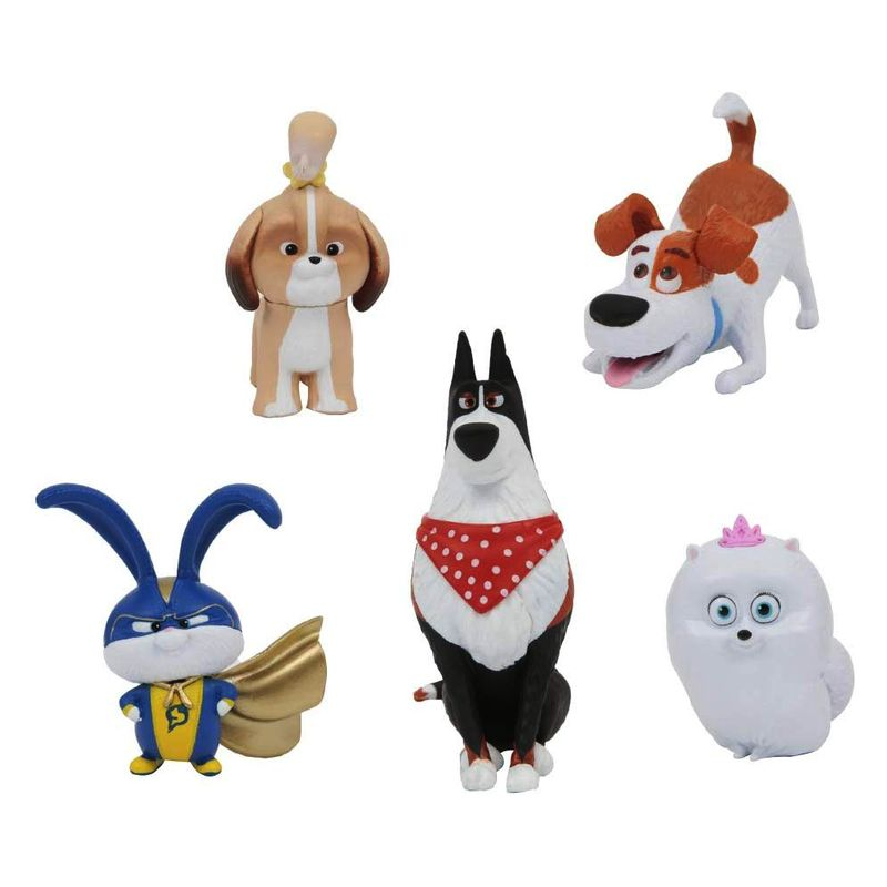Figuras La Vida Secreta de Tus Mascotas 5 Pack