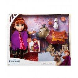 Muñeca de Anna y Sven Frozen 2
