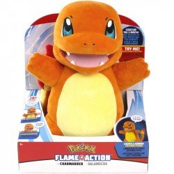 Peluche Pokemon Charmander Luces Y Sonido