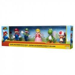 Figuras De Acción Set De Juego Mario Bros Y Sus Amigos