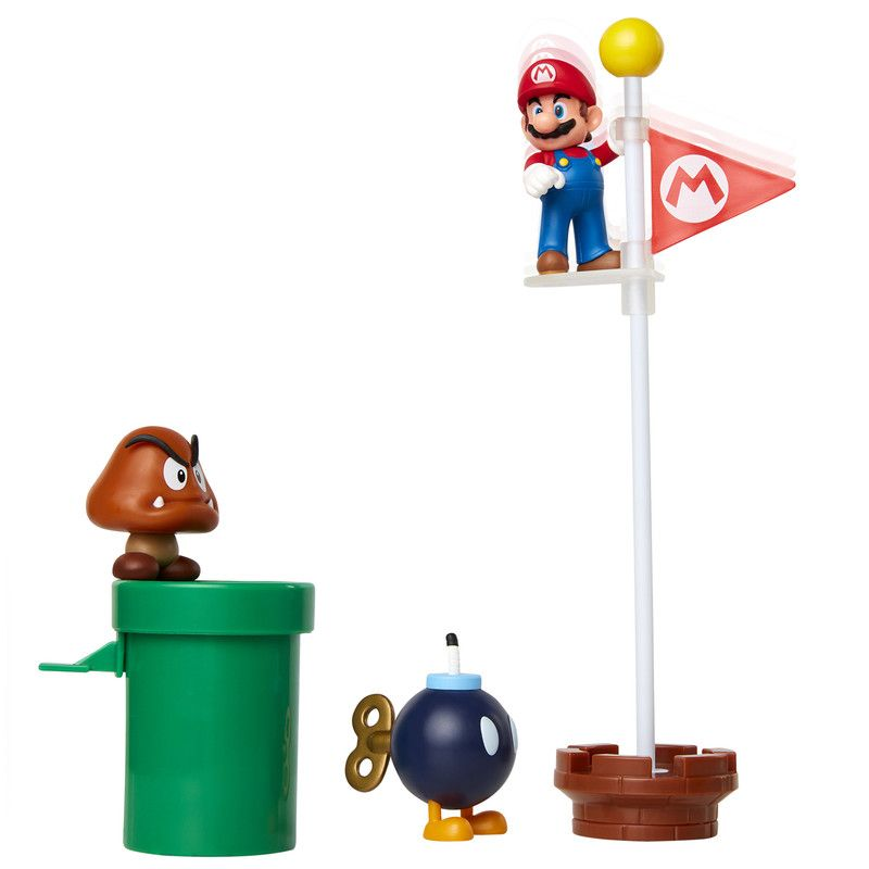 Set 3 Figuras De Acción Nintendo Mario Bross